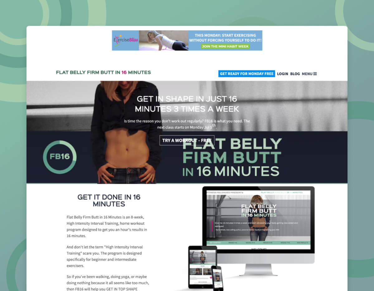 Flat Belly Firm Butt
