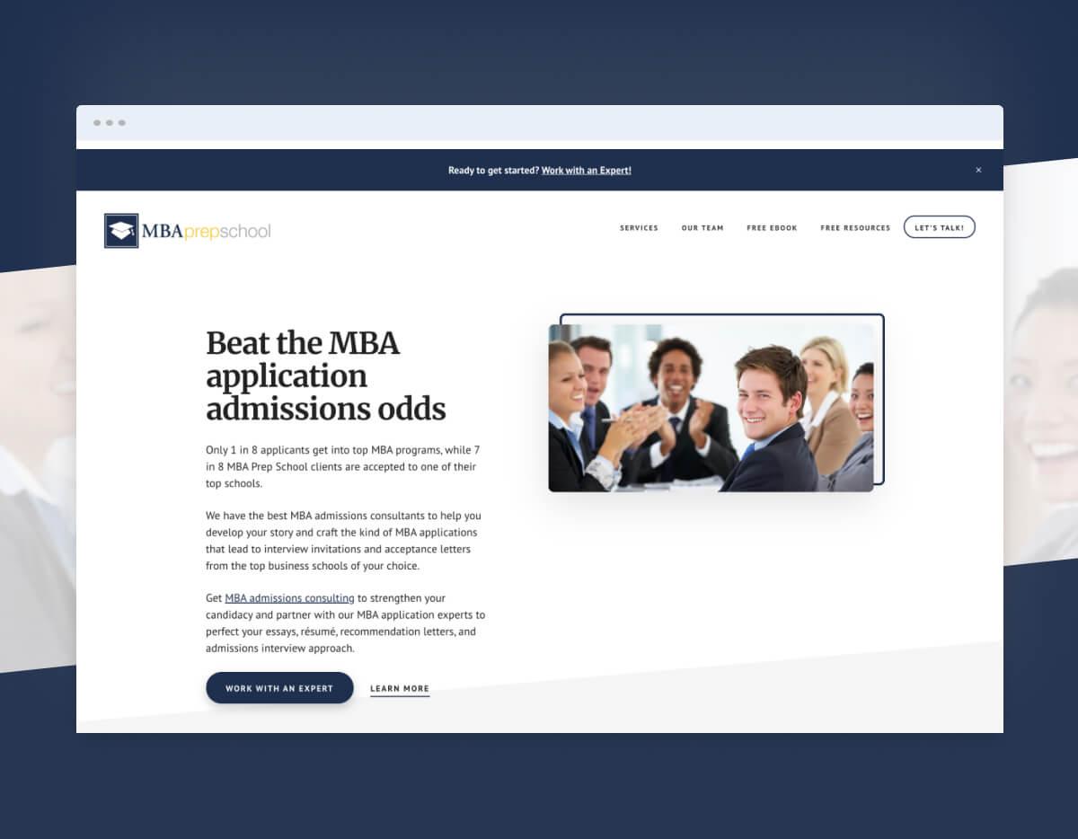 MBA Prep School